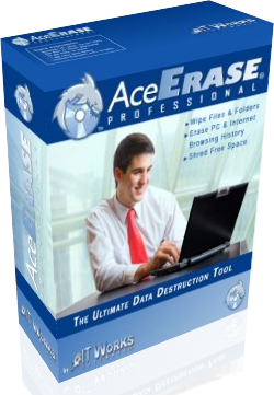 IT Works Software has released AceErase 1.5 Professional File Shredder